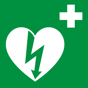 Defibrylatory AED w mieście