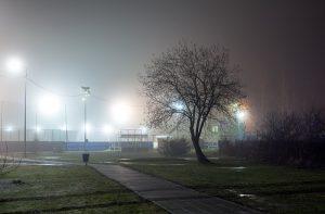 Idealnie oświetlony park – oświetlenie uliczne LED